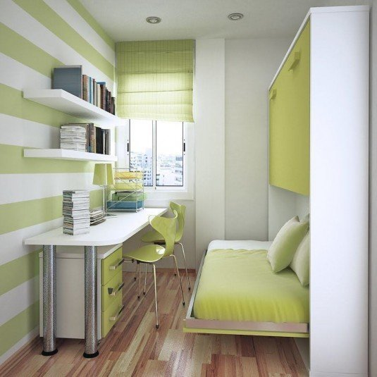 small-bedroom-green