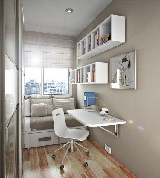 small-bedroom-white-and-gray