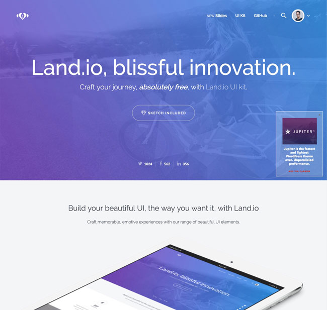 25+ Free HTML Landing Page Templates 2017 - DesignMaz