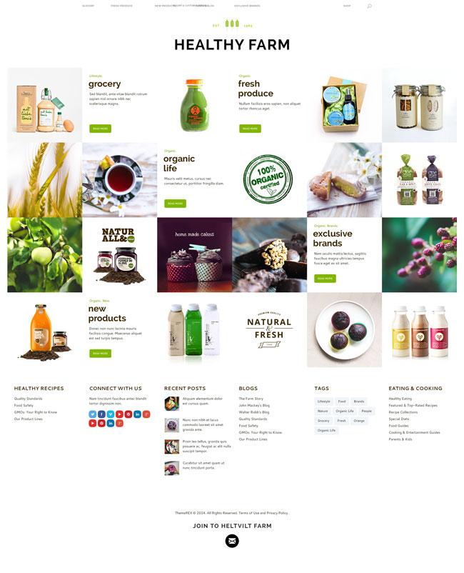 Healthy-Farm-Food-Agriculture-WordPress-Theme