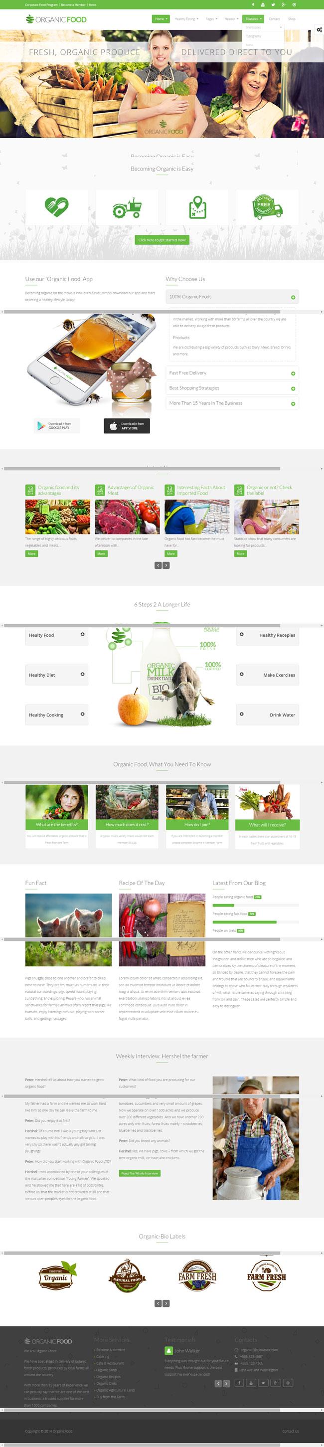 Responsive-Organic-Food-Wordpress-Theme