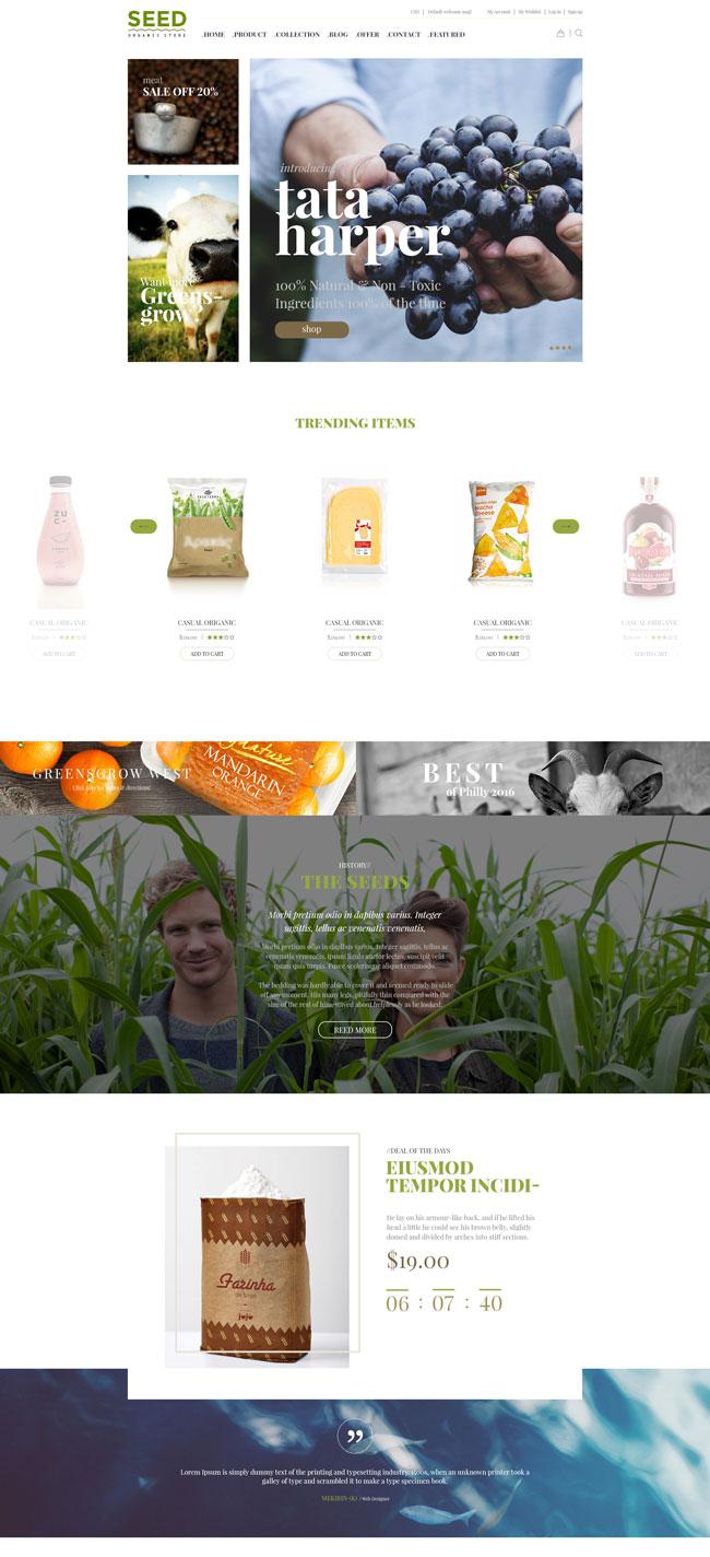 SEED-Organic-Shop-Farm-Food-Coffee-Cosmetic-Bio-Wordpress-Theme