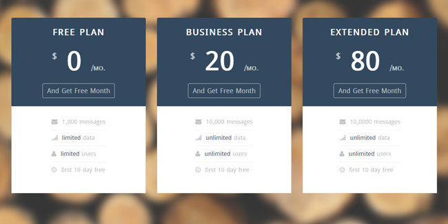 Startup-UI-Pricing-Table-Template