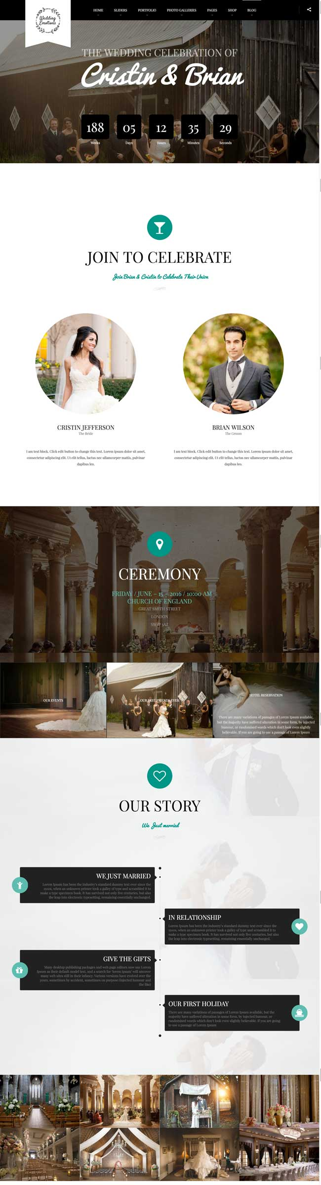 Wedding-Emotions-WordPress-Theme