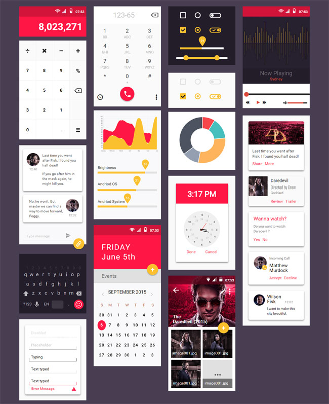 material-design-html-ui-kit