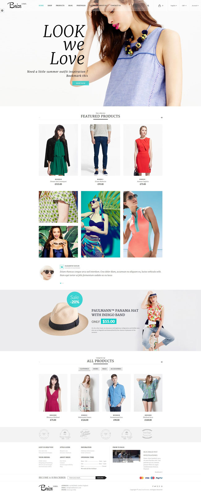 Brize-Responsive-WooCommerce-Fashion-Theme