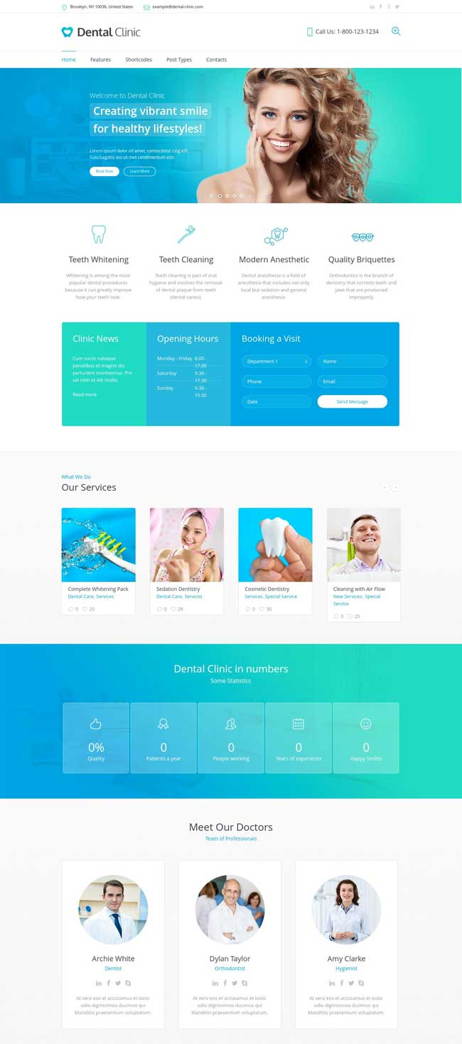 Medical-Dentist-WordPress-Theme-Dental-Clinic