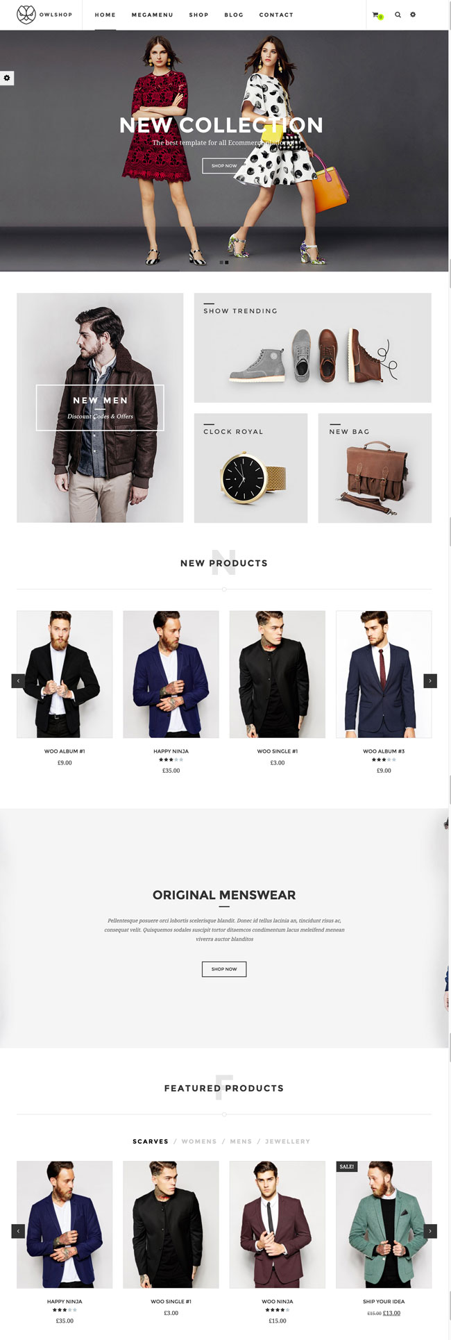 15 Best Responsive Fashion Woocommerce Themes 2015