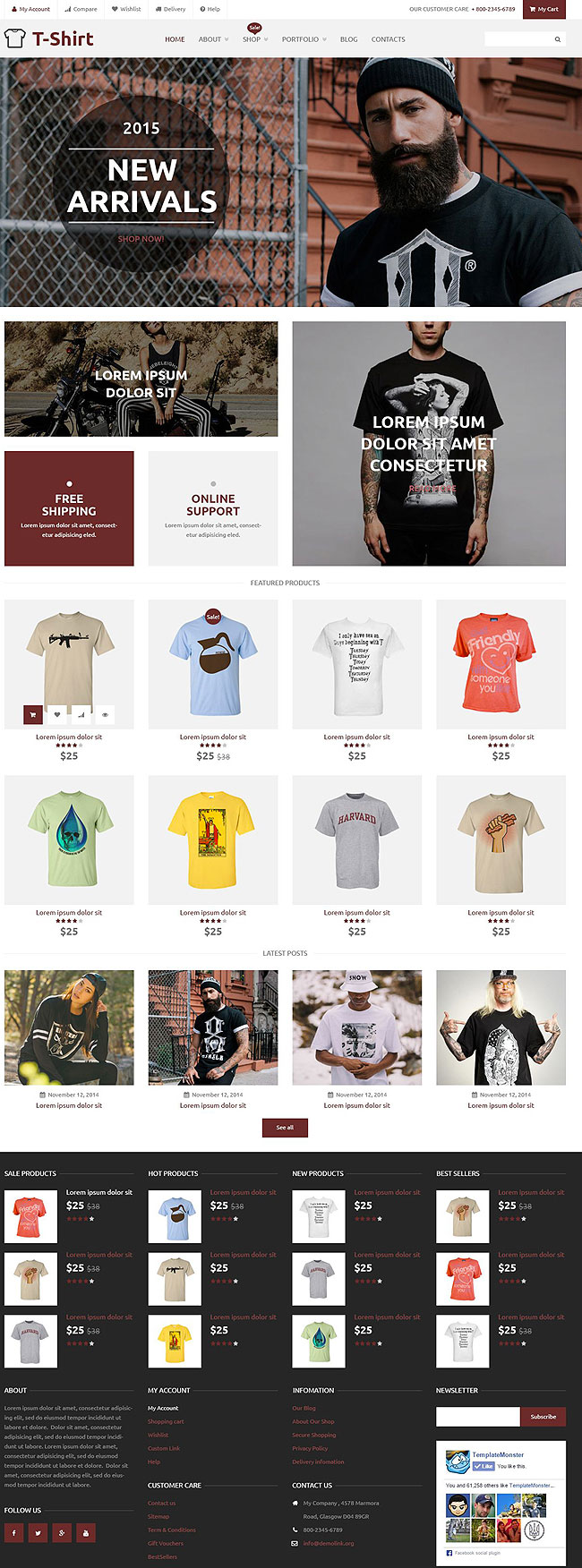 T-Shirt-Shop-WooCommerce-Theme
