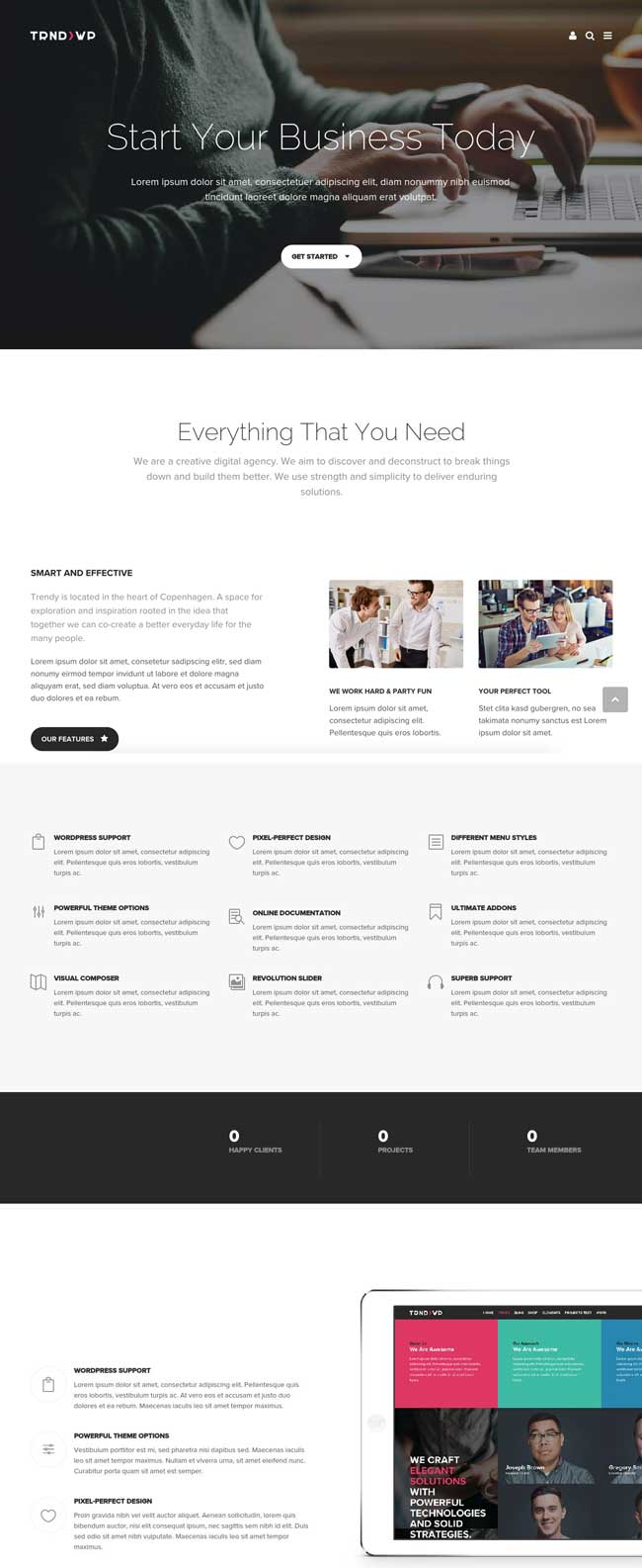 Trendy-Creative-Multi-Purpose-WordPress-Theme
