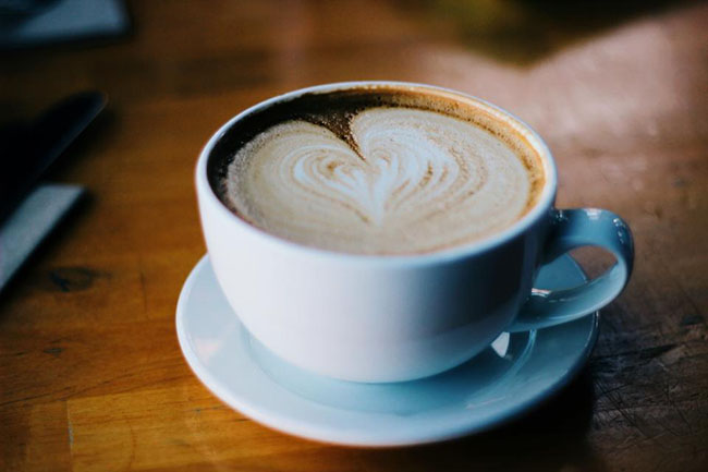 Coffee Cappuccino Heart