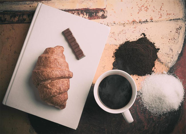 Croissant Coffee Chocolate