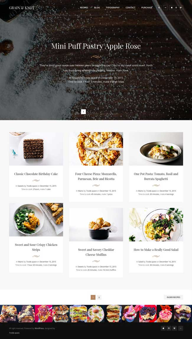 Grain-Knot-Food-Blog-WordPress-Theme
