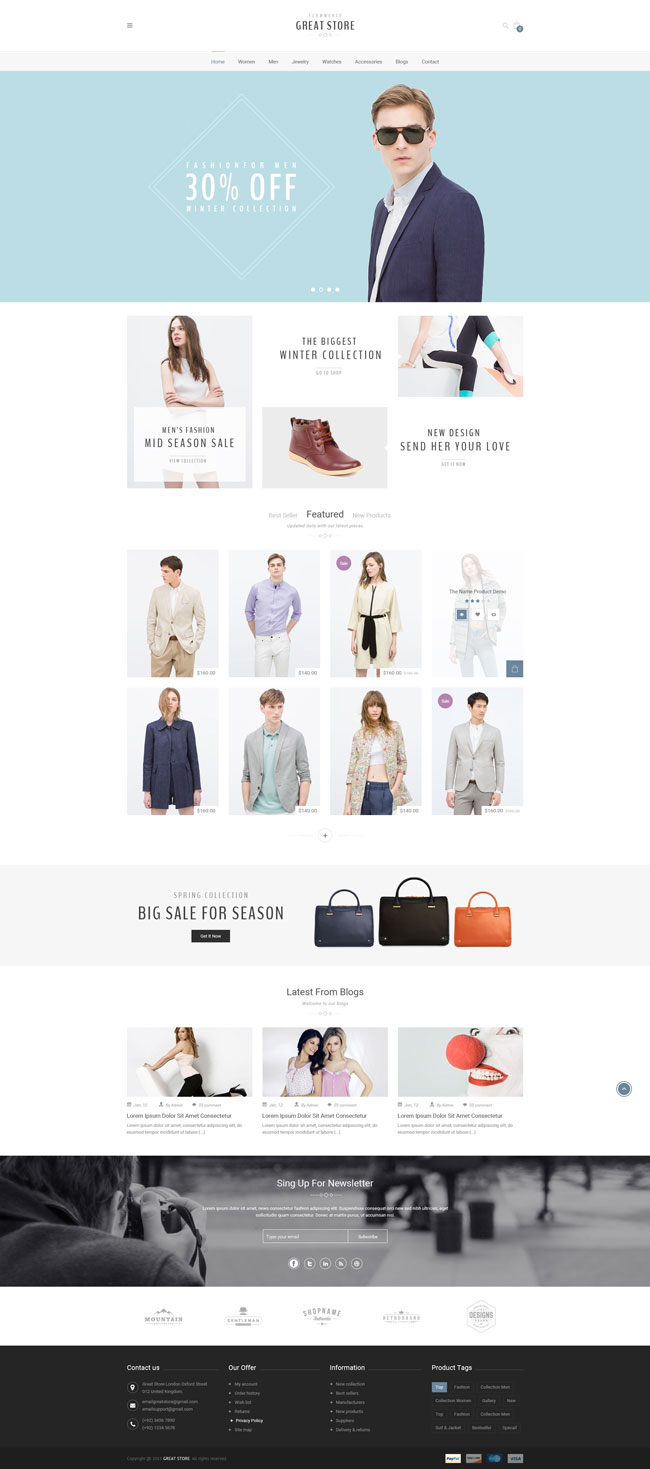 Great-Store-eCommerce-PSD-Template
