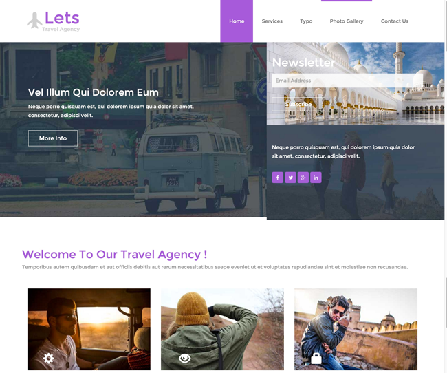 Lets-Free-Responsive-HTML5-CSS3-Travel-Template