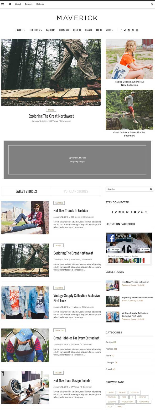 Maverick-Multipurpose-WordPress-Blog-Theme