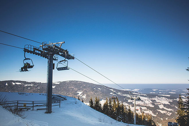 Mountain Top: Ski Lift