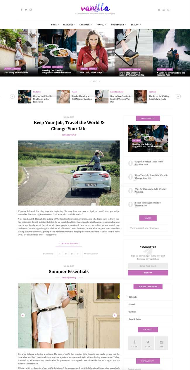 Vanilla-Food-Lifestyle-and-Fashion-WordPress-Blog-Theme