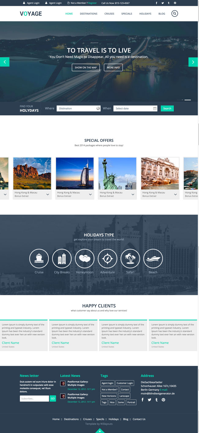 Voyage-Travel-Responsive-HTML5-Template