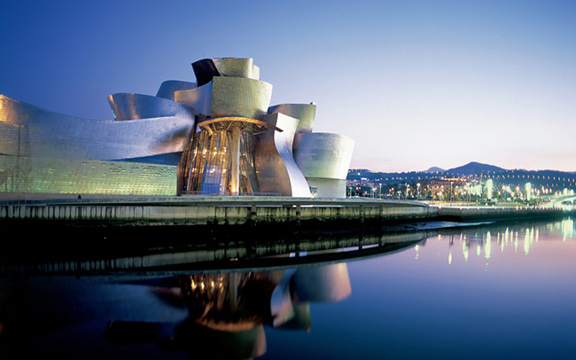 guggenheim museum bilbao spain wallpaper