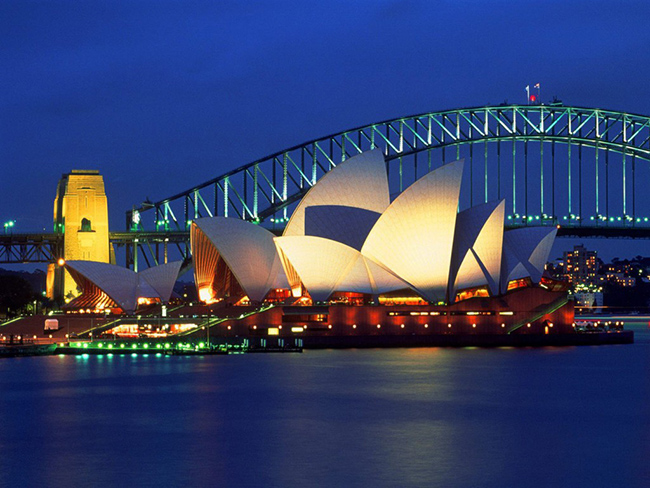 sydney opera house australia wallpaper
