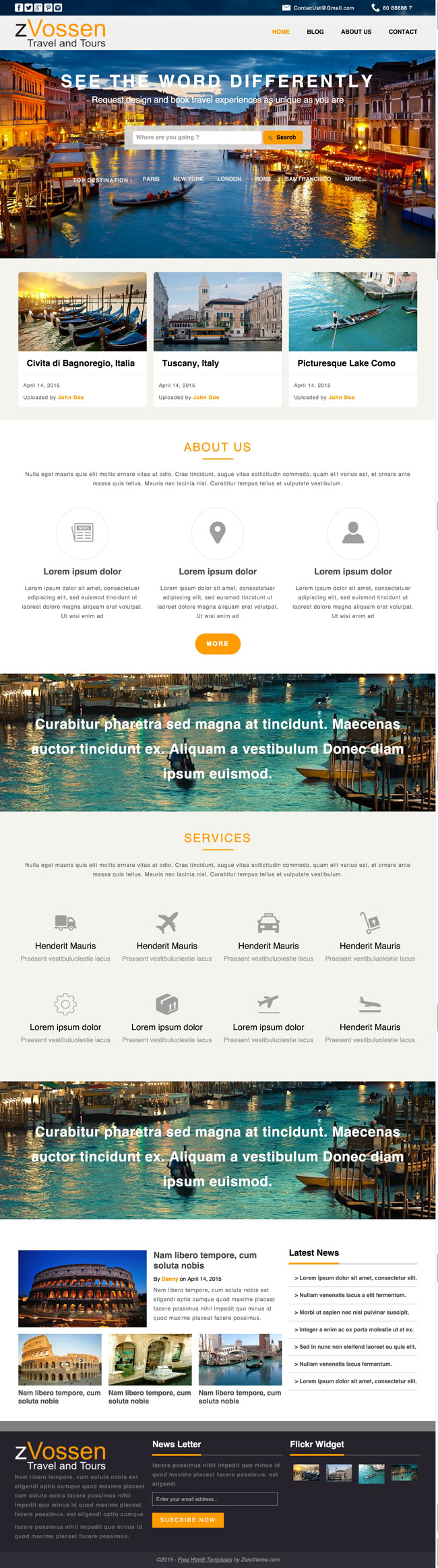 zVossen-Free-Responsive-Travel-Tour-Html5-Template