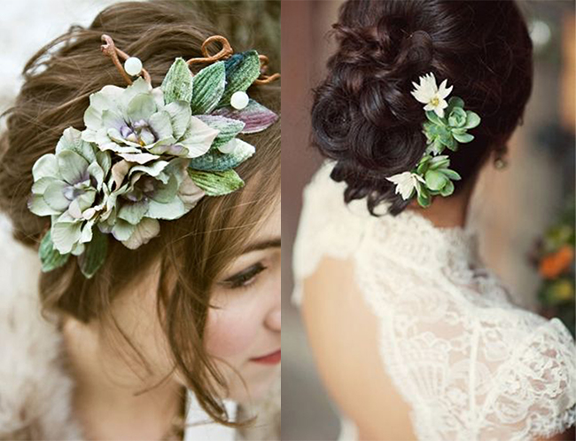 Succulent Hairstyle