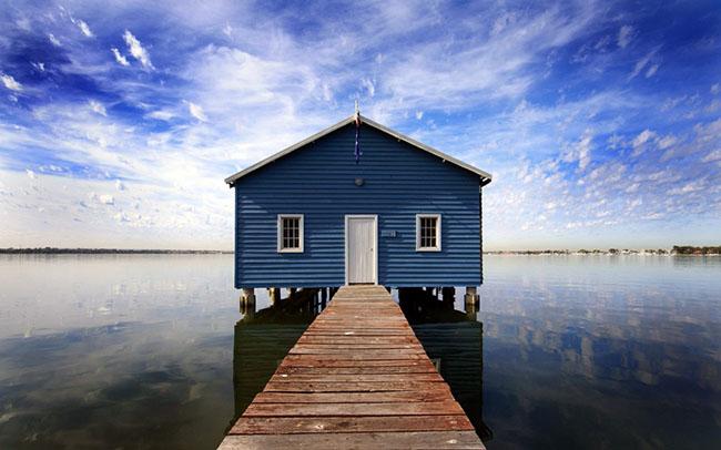 dock water wallpaper