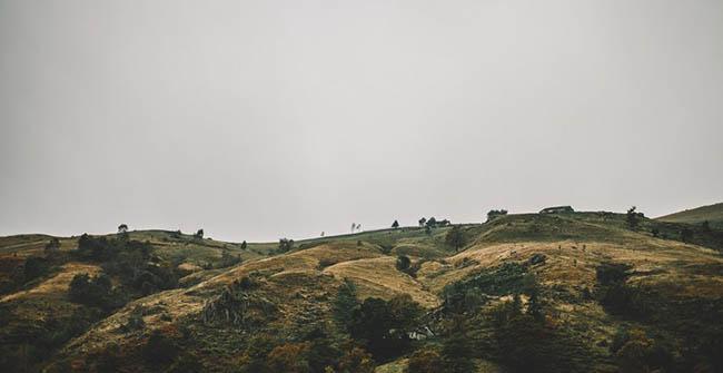 hills landscape