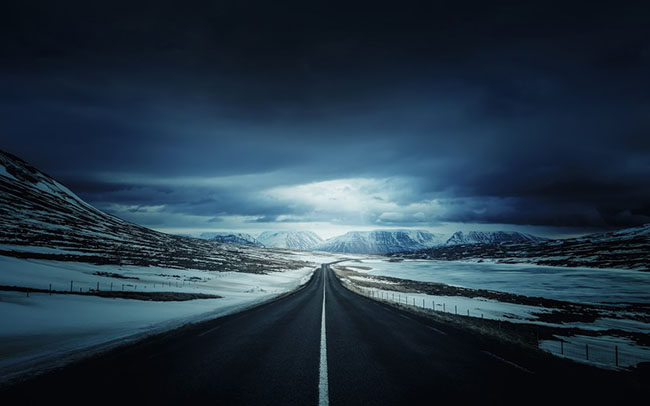 iceland's ring road wallpaper