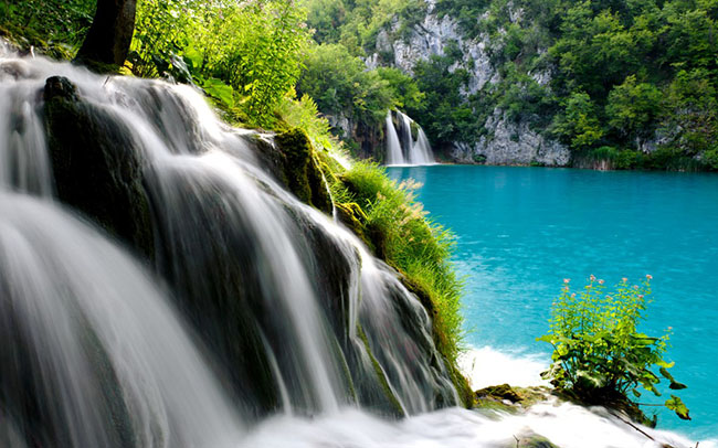 plitvice lakes national wallpaper