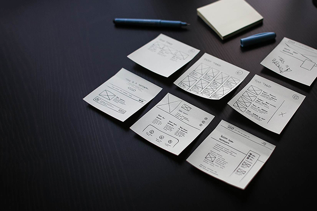 webdesigner's sticky notes