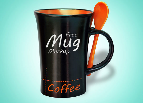 Free-Black-Coffeee-Mug-PSD-Mock-up