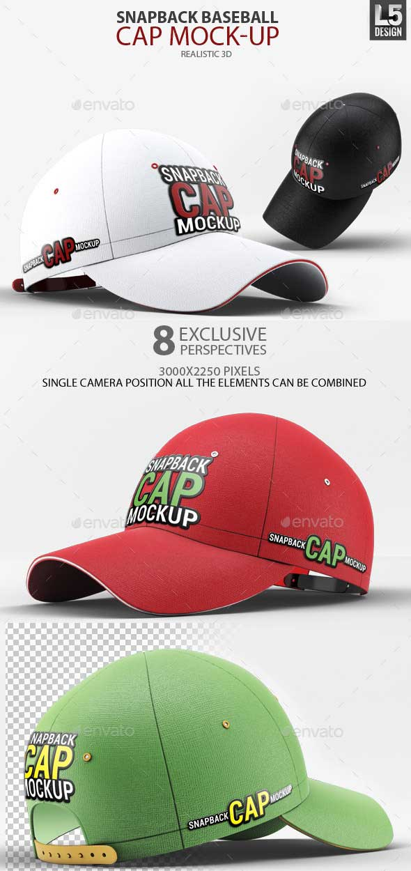 Snapback-Baseball-Cap-Mock-Up-PSD