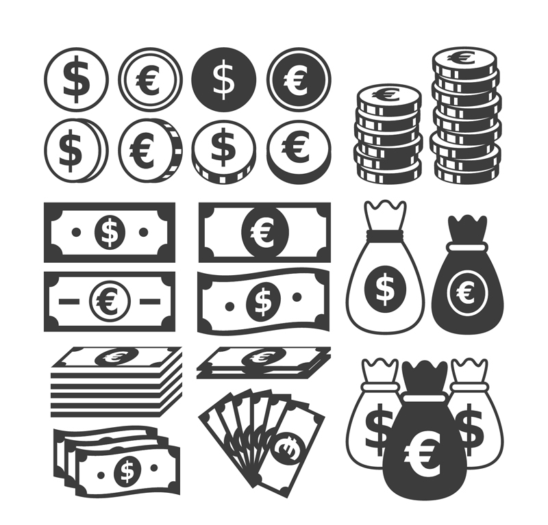 21-coins-and-banknotes-vector