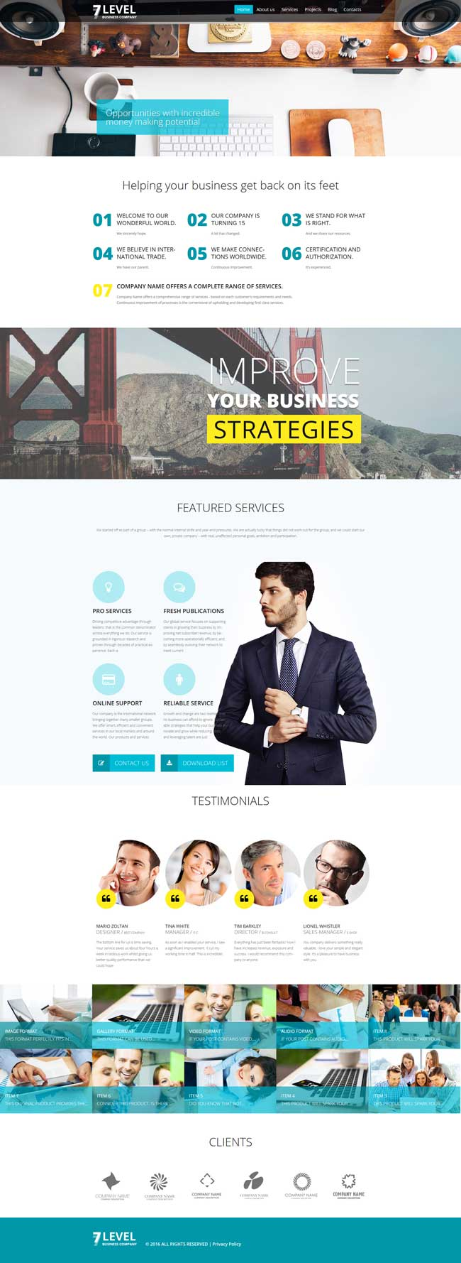 7-Level-Creative-Portfolio-WordPress-Theme-Portfolio-Theme