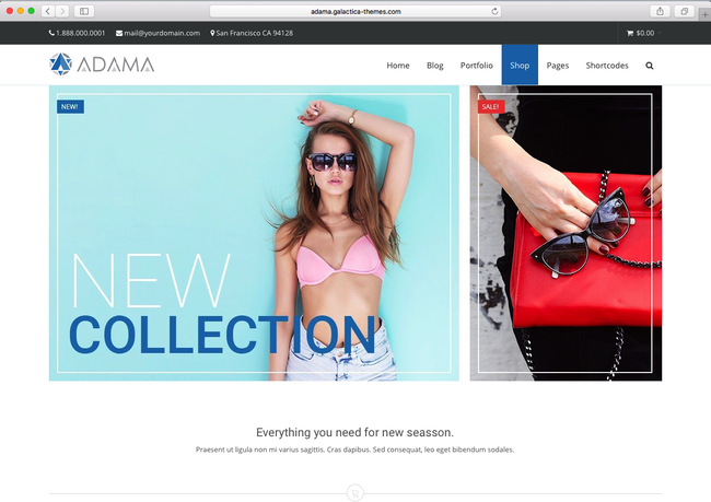 using a trending WordPress eCommerce theme of 2016 to sell products
