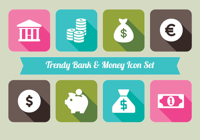 Bank-Abd-Money-icon-Set