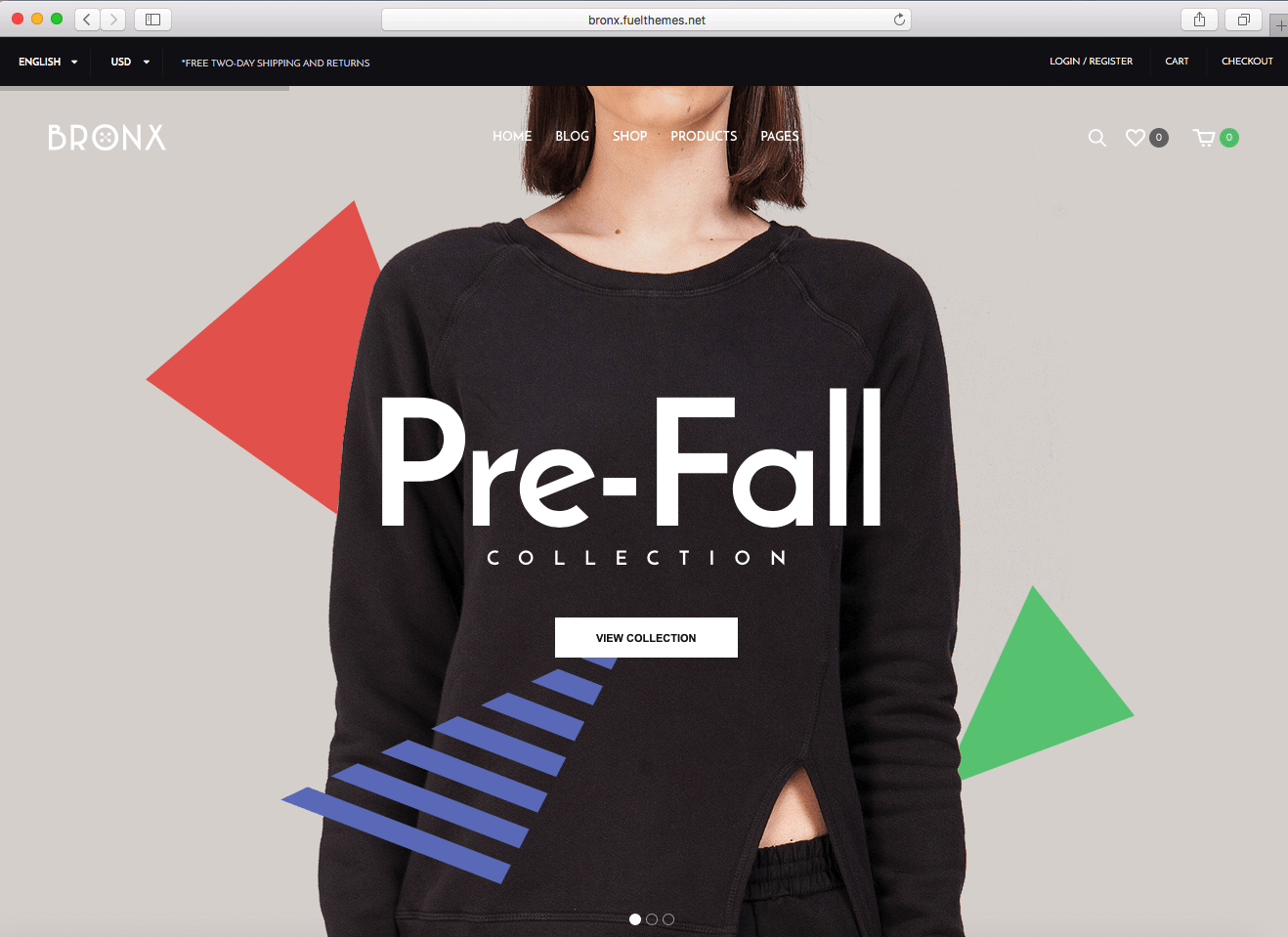 using WordPress eCommerce themes of 2016 to sell clothes
