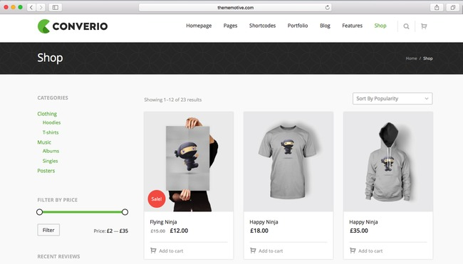 using a WordPress eCommerce theme of 2016 for your fashion shop