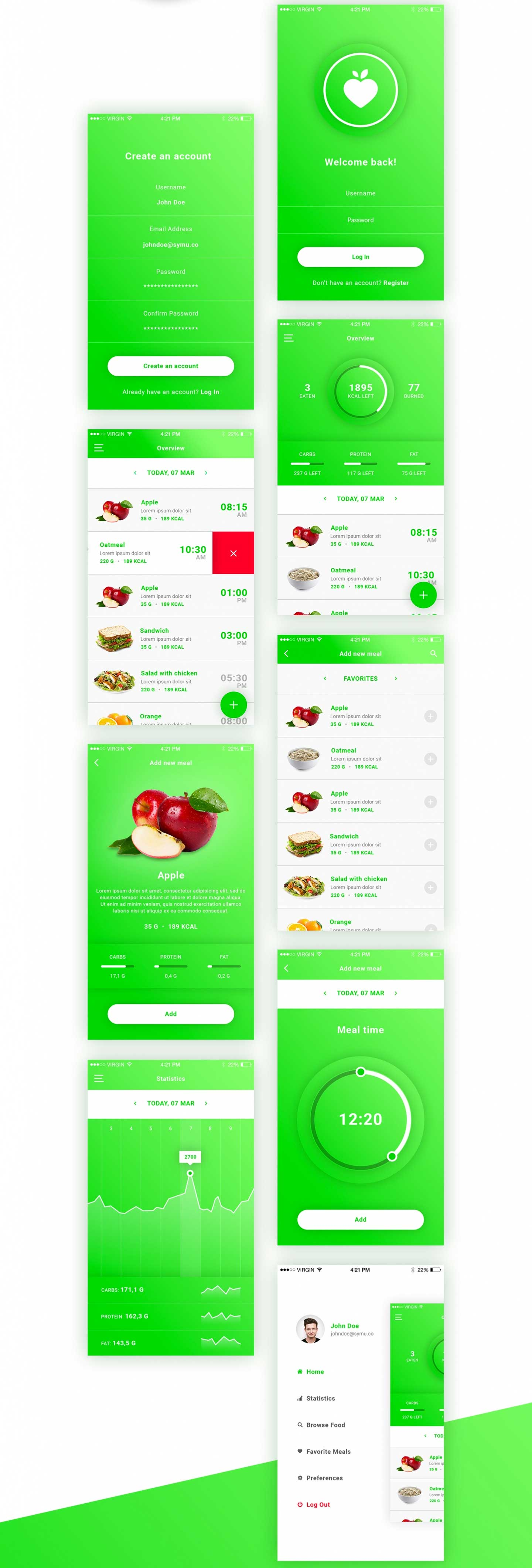 FitApp-Mobile-App-PSD-Template-Preview