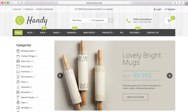 WordPress eCommerce theme of 2016 for your handmade shop