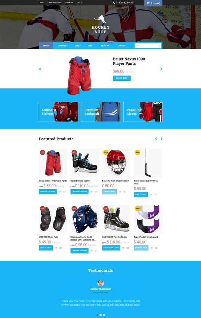 Hockey-Store-Shopify-Theme