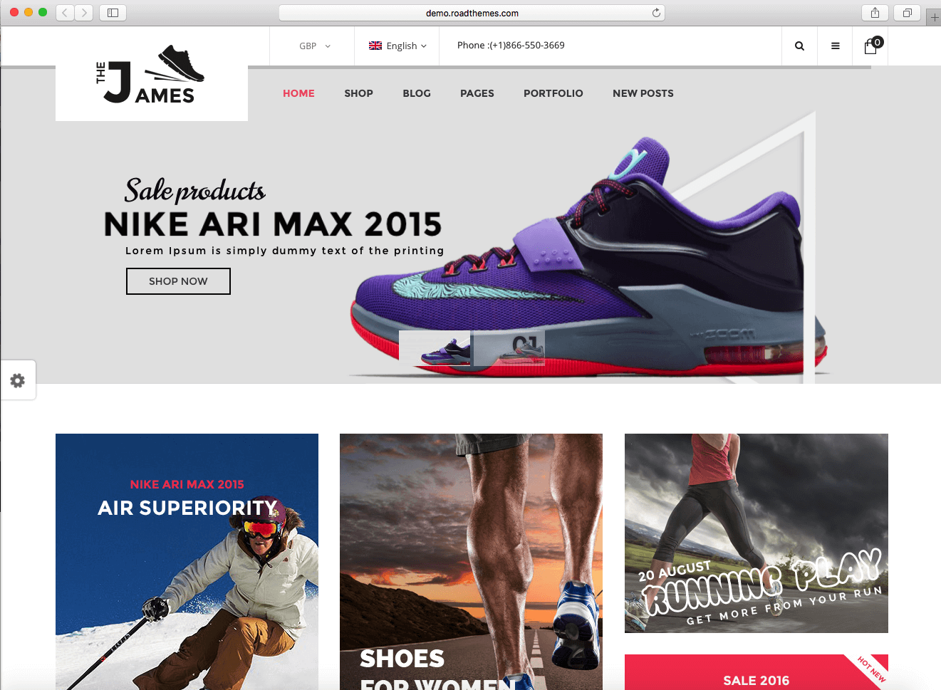 using WooCommerce 2016 to sell shoes