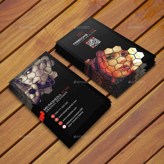 65 best business card for photographers 2016 designmaz photography freedom business card reheart Gallery