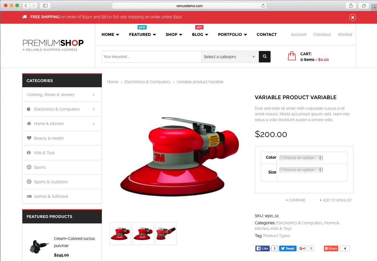 using WordPress eCommerce theme of 2016 to sell digital products