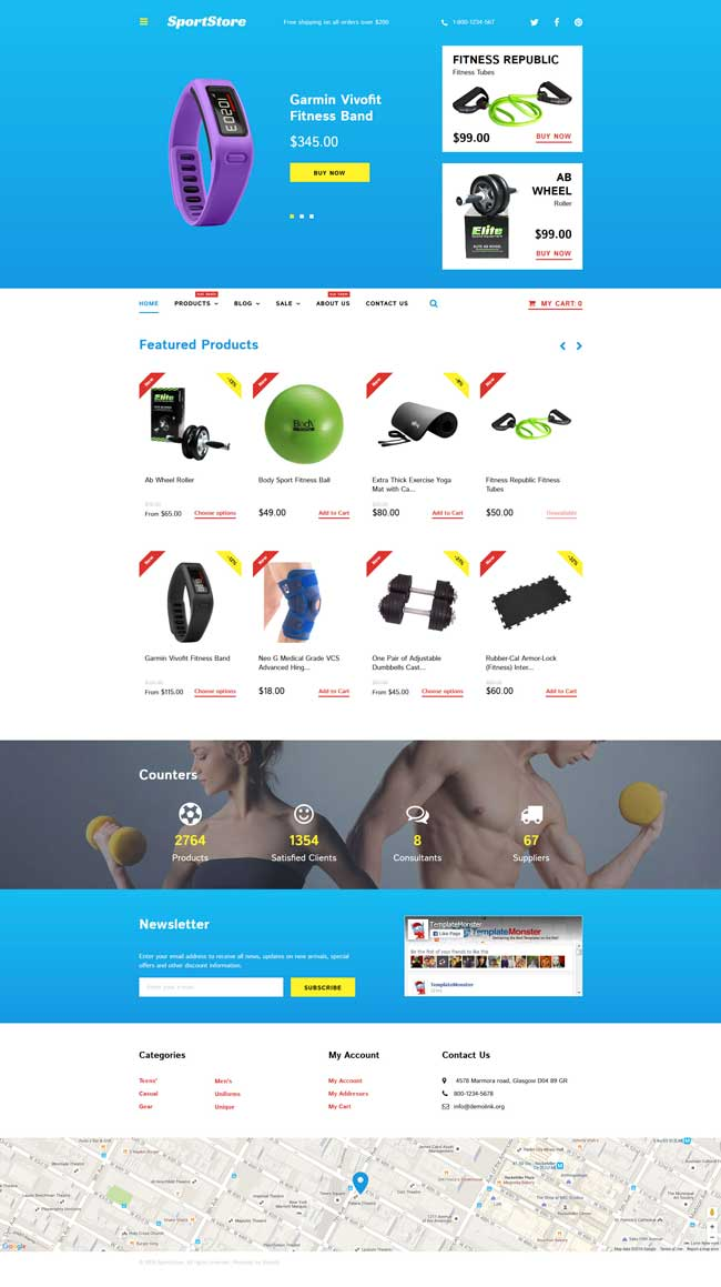 Best Sport Store Shopify Themes DesignMaz - Shopify design templates
