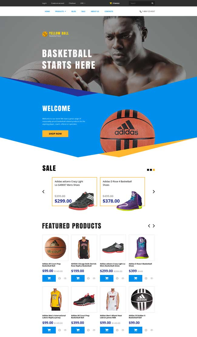 Yellow-Ball-Shopify-Theme