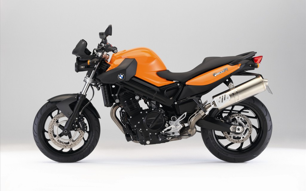 BMW F800 R Orange Wallpaper