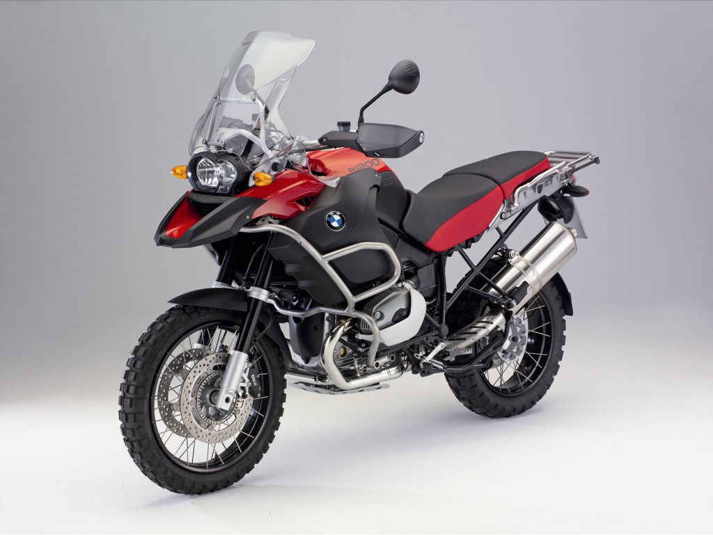 BMW R 1200 GS Red Wallpaper